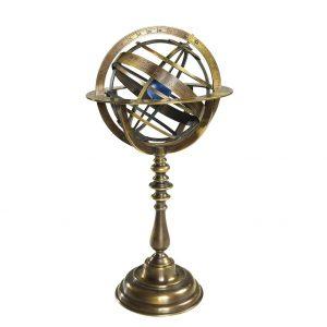Bronze Armillary Dial GL052